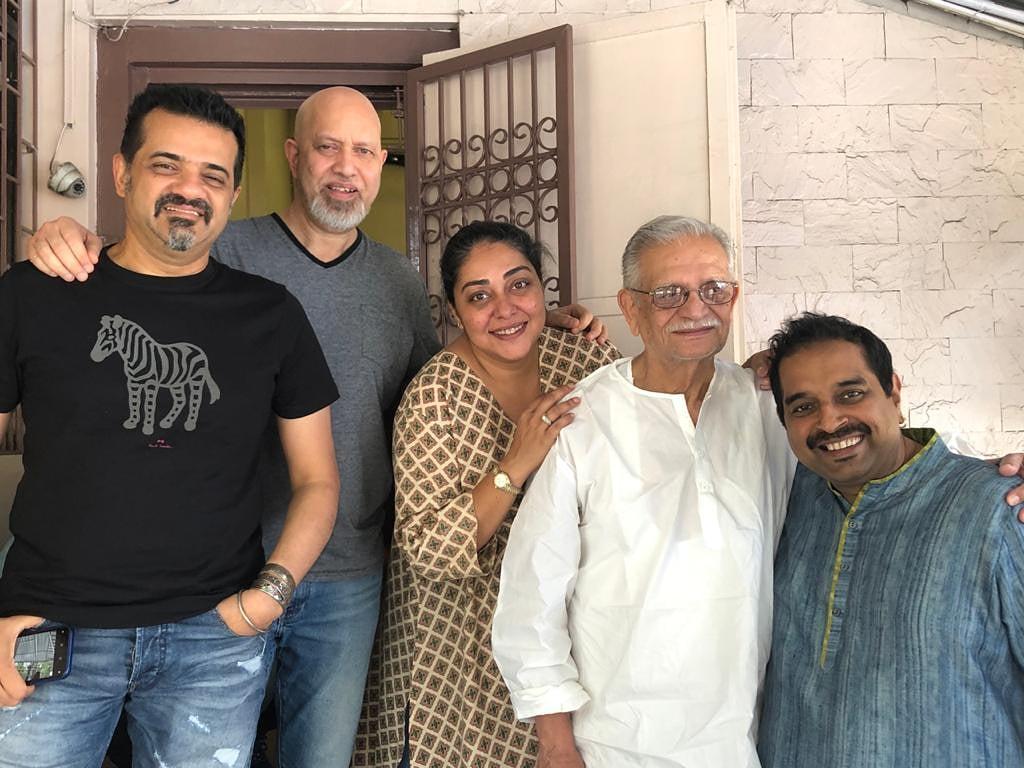 Wishing the living legend Gulzaar Sahab a very Happy Birthday!  @Shankar_Live @EhsaanNoorani @loy_mendonsa @meghnagulzar