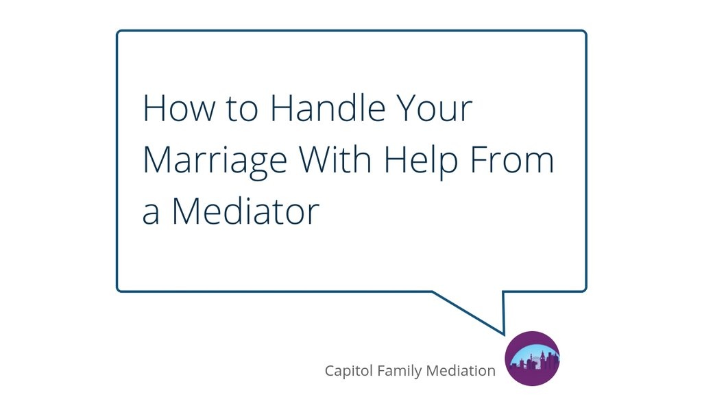 Another important factor that a person should consider when they are looking into mediation is if the person who is seeking help from a mediation has children.  Read the full article: How to Handle Your Marriage With Help From a Mediator ▸ https://t.co/r3IVaFewqd https://t.co/PPYxFSa7Oq