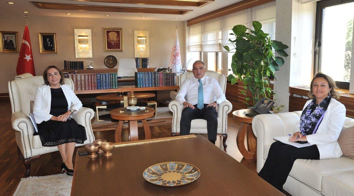 AK Parti Mersin Milletvekili Sayın Zeynep Gül Yılmaz'a ziyaretleri için teşekkür ediyorum. https://t.co/agyddT9b9p