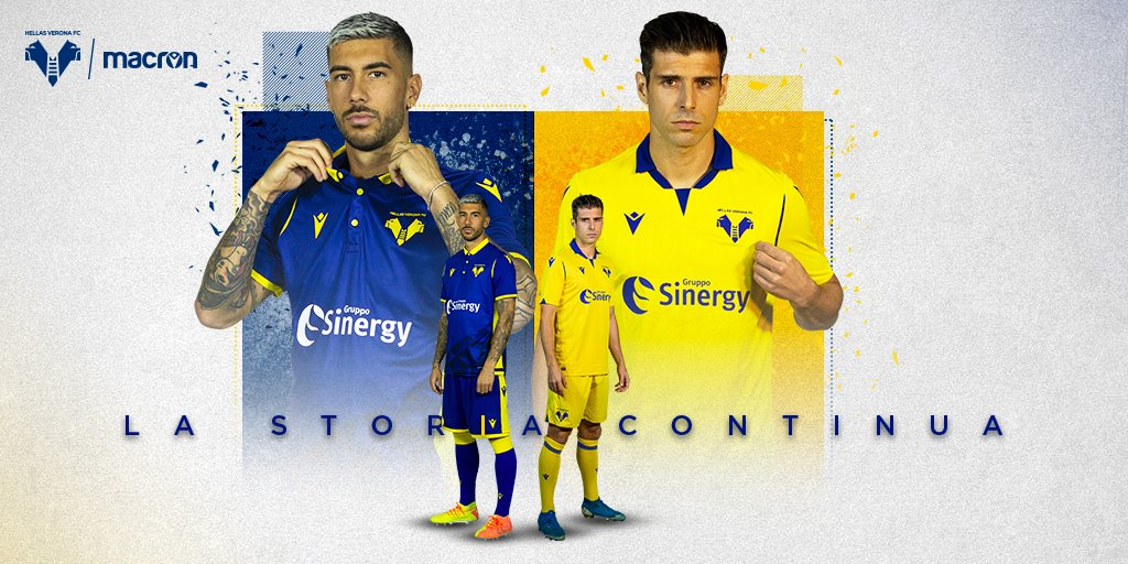 Macron On Twitter Introducing The New Hellasveronafc Home And Away Match Day Kits For The 20 21 Season Shop Now Https T Co 5fxrar1muf Workhardplayharder Https T Co Ew764vr70j