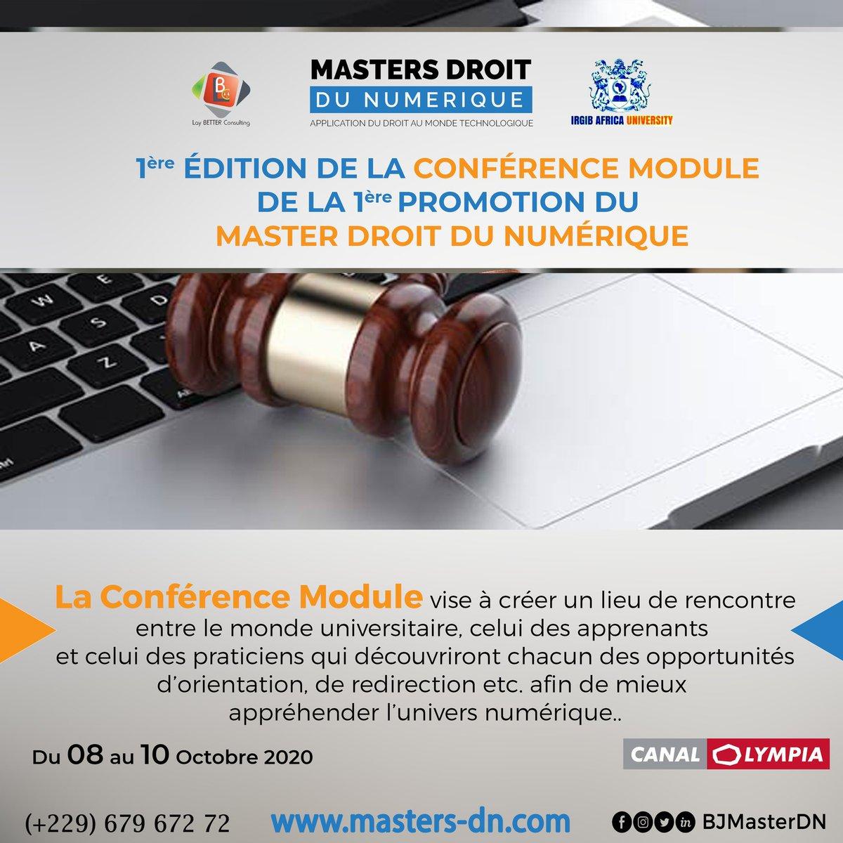 Acteurs du monde du numérique, vous voulez en savoir plus sur les questions de Droit du Numerique?  La conférence des auditeurs est le lieu pour vous !   Joignez-vous à nous !  #droit #numerique #droitnumérique #benin #TT229 https://t.co/396JmqYoFm