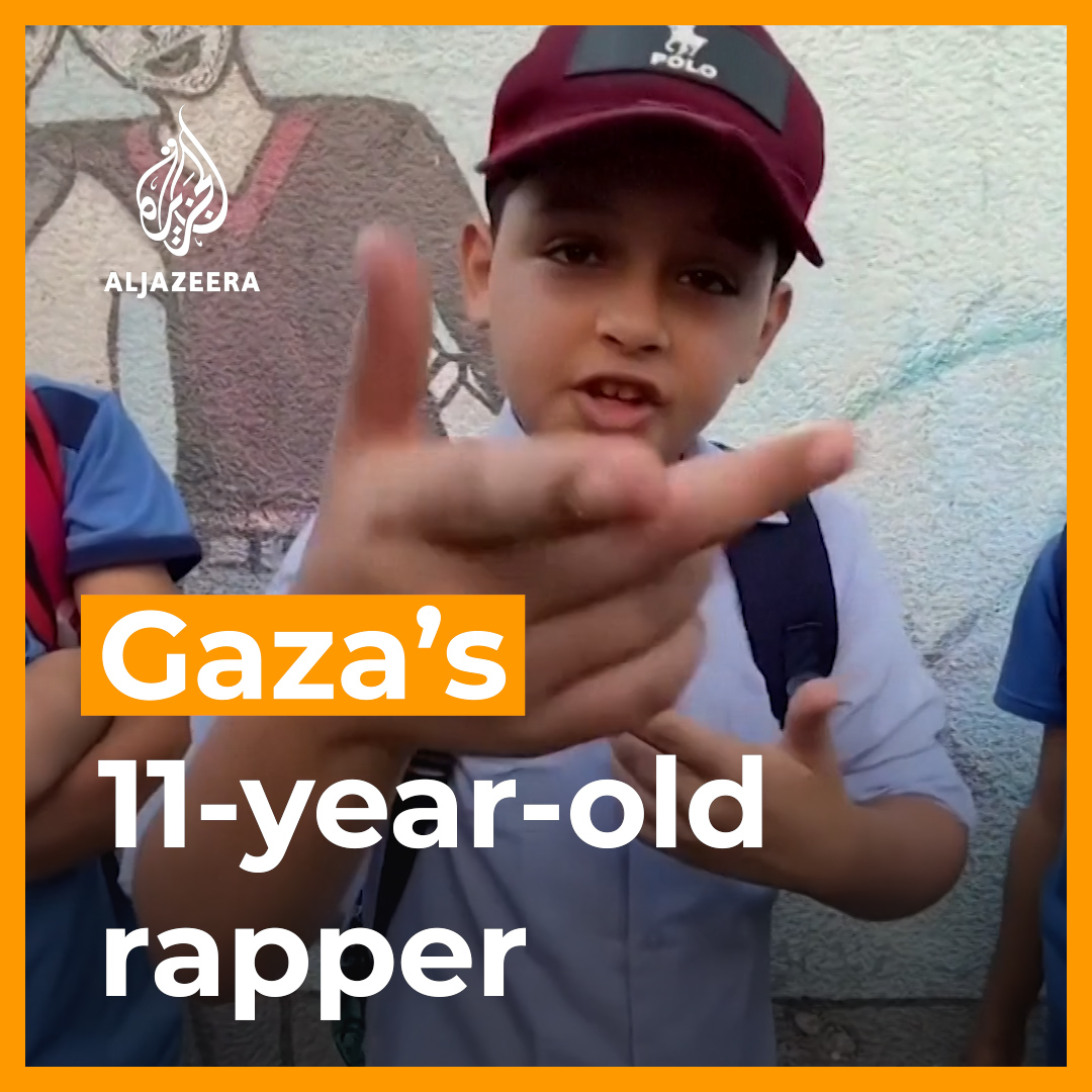 Meet the 11-year-old rapper from Gaza rhyming about the difficulties of growing up with war. https://t.co/8VArlIWVgl