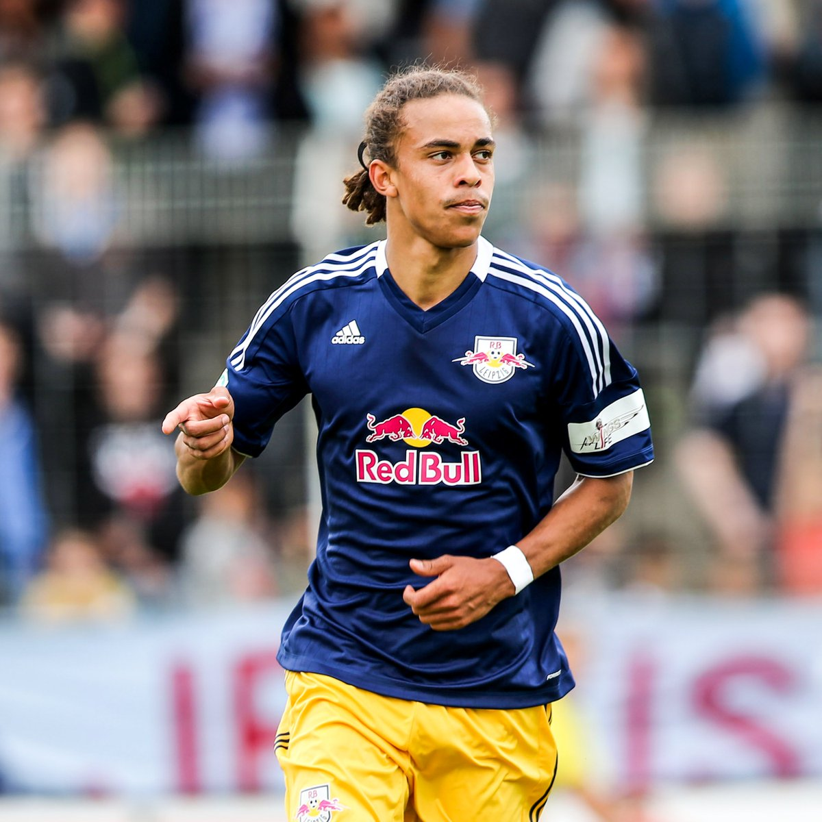B R Football On Twitter In 2013 Yussuf Poulsen Debuted For Rb Leipzig In The German Third Division Today The 26 Year Old Striker Will Captain The Club In Their First Champions League Semi Final