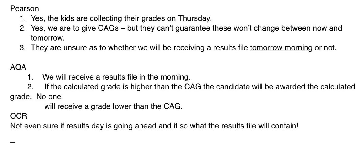 Exam board websites... well that's clear!