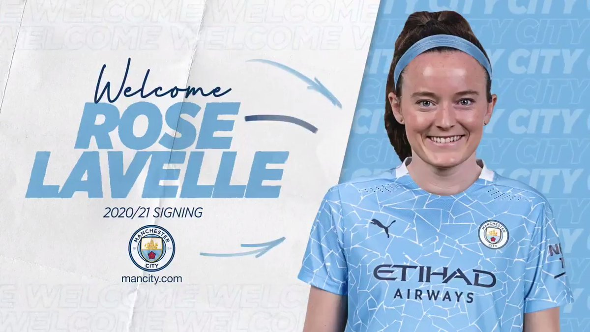 WE MOVE! Welcome to City, @roselavelle ! 💪  🔵 #ManCity  |