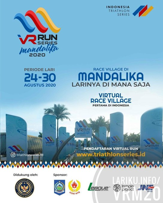 Indonesia Triathlon Series – VR Series ∙ Mandalika • 2020