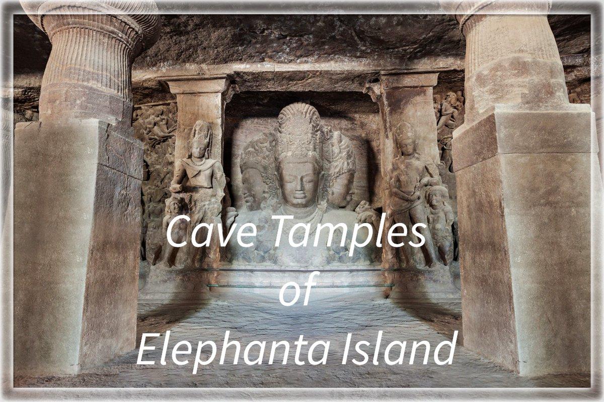 #Elephanta #Island is located south east coast of #Mumbai #India. Elephanta is a popular tourist destination because of the island's cave temples, Photo courtesy-Britannica #ElephantaIsland #ElephantaCaves #cavetemples #travel_journey #traveljourney #naturelover #enjoying #travel https://t.co/LbVbZJKO8S