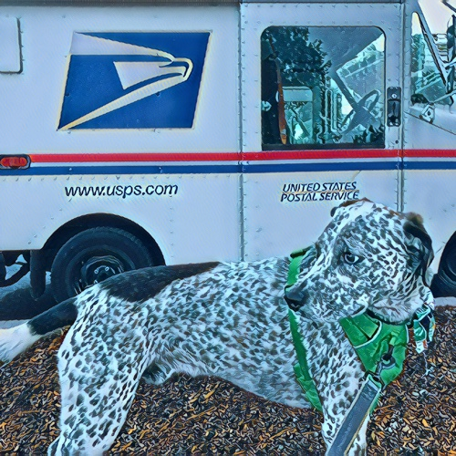 #Tuesdaymorning DYK my Uncle👨🏻🦰was a postman. It was his best job. #SaveUSPS📬 🐾🏃🏻♀️👉🏽4.4 @CharityMiles for @PLAN4ZERO. #PLAN4ZERO #0X2030