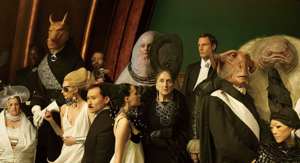 Atatchat On Twitter Say What You Will About The Sequel Trilogy But Ultimate Hottake They Had The Best Alien Puppets Of All Time Out Of The Entire Catalogue Https T Co Zakwvrksyo