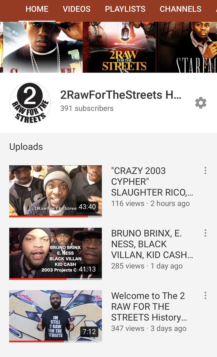 Check out Big Stars new 2RawForTheStreets Philly Rap History Youtube Channel. It's a oral/visual historical museum of the underground hip hop scene from 1998 until about 2008. This was the so called VHS/DVD era of rap. Check it out and SUBSCRIBE!!