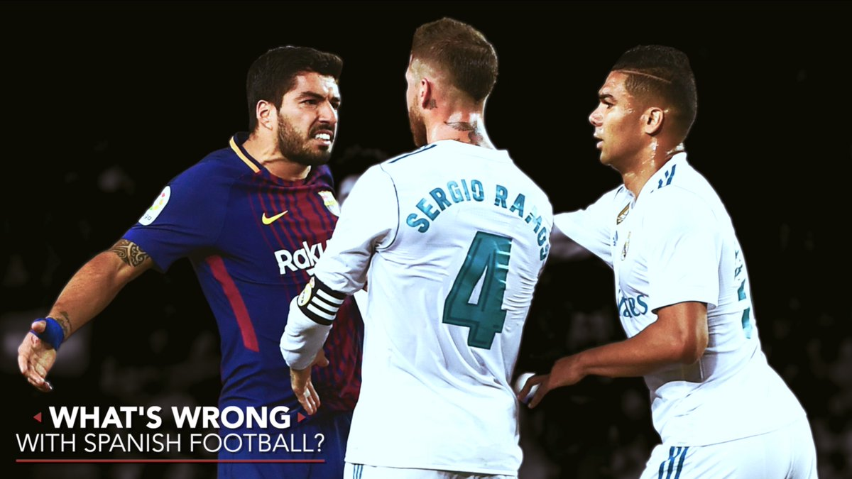 No Spanish team in the #UCL Semis and @GuillemBalague believes it's not a flash in the pan, but rather a sign of the decline of Spanish football. @damarticast joins him to discuss that in the latest episode of the pod.  🎧:  📺: