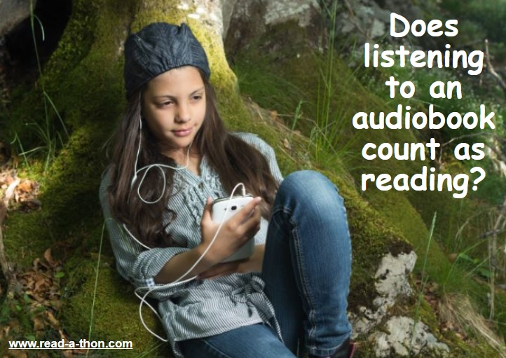 So what do you think? Should listening to #audiobooks count as #reading?