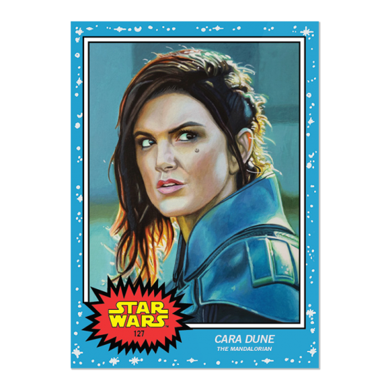 New week of #ToppStarWarsLiving!  #127 Cara Dune, The Mandalorian #128 Klaud, Star Wars: The Rise of Skywalker https://t.co/9LGGMyFZwN