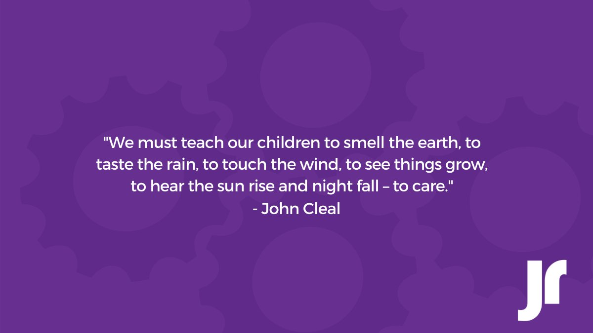 We must teach our children⁣ To smell the earth,⁣ To taste the rain,⁣ To touch the wind,⁣ To see things grow,⁣ To hear the sun rise⁣ And night fall,⁣ To care.⁣ ⁣ ~ John Cleal https://t.co/3eiQ155eHz