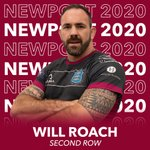 Image for the Tweet beginning: Second Row Will Roach commits