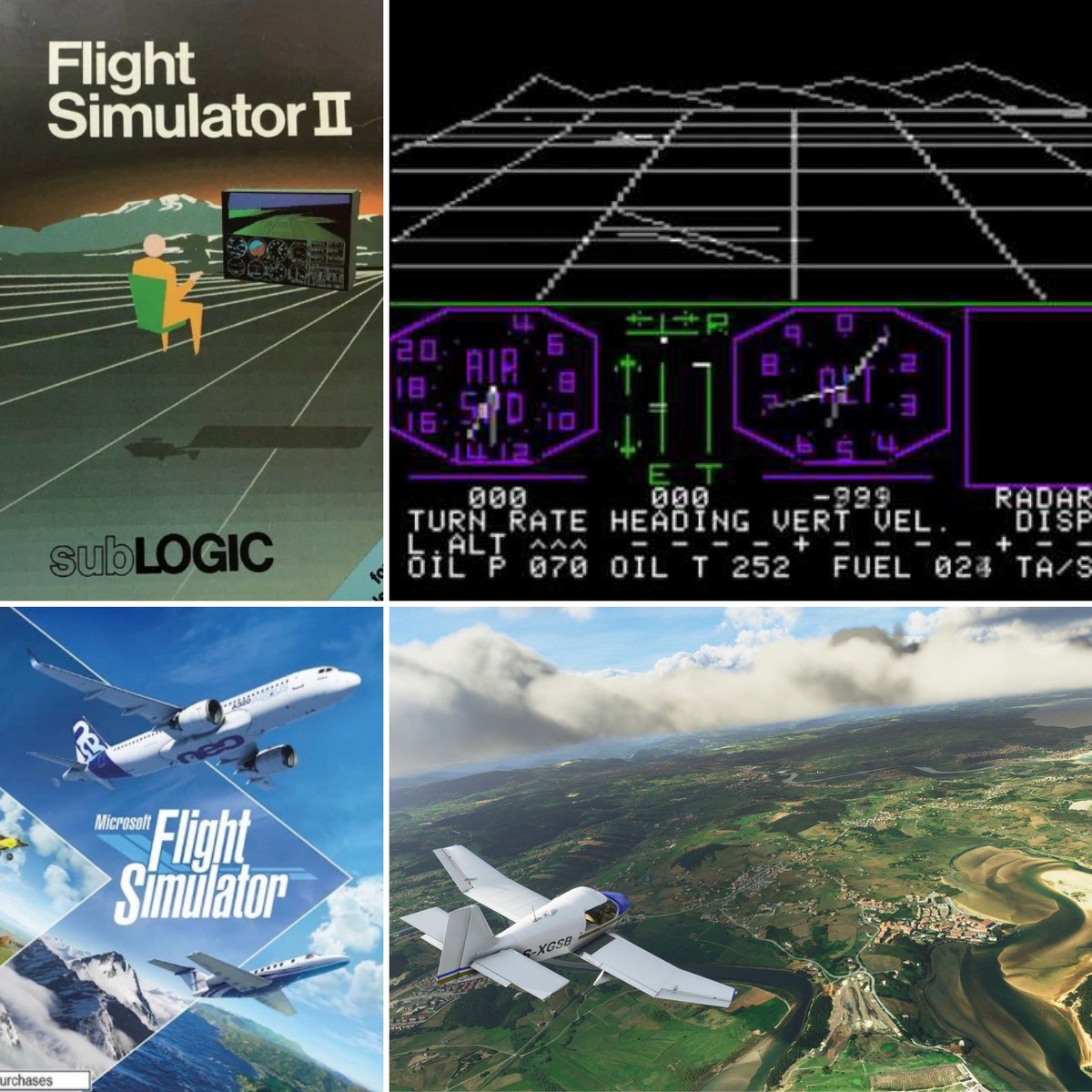 "Only the Flight Simulator ""OG's"" can talk about this! #FlightSimulator2020 #SubLogic #Microsoft https://t.co/28GHN2Xc6L"