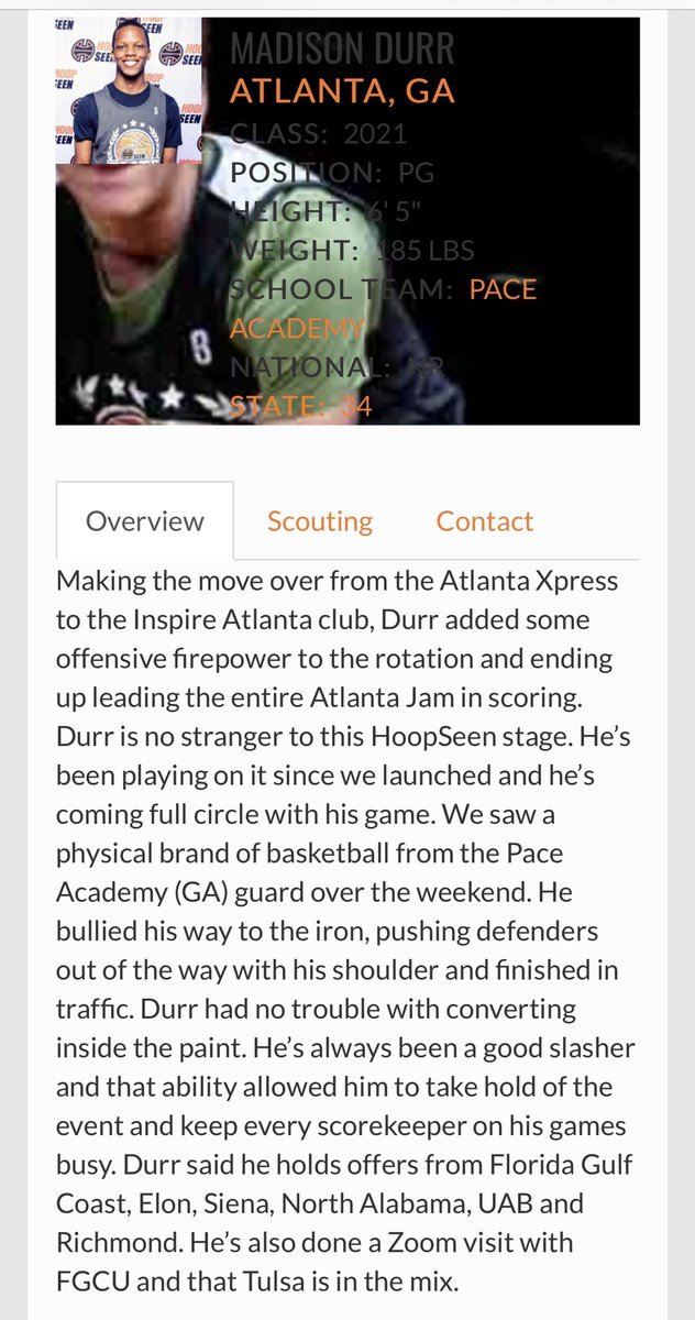 🔥@mdurr_3 named 1 of the top performers @hoopseen #ATLJAM🔥 #WeOverMe https://t.co/dG7Y2JlHfB