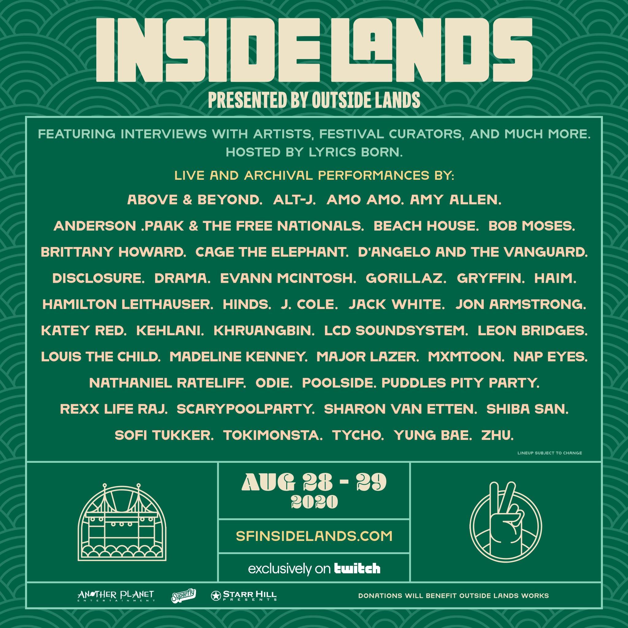 Inside Lands Live Stream