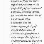 Image for the Tweet beginning: Dice el CEO de Autodesk