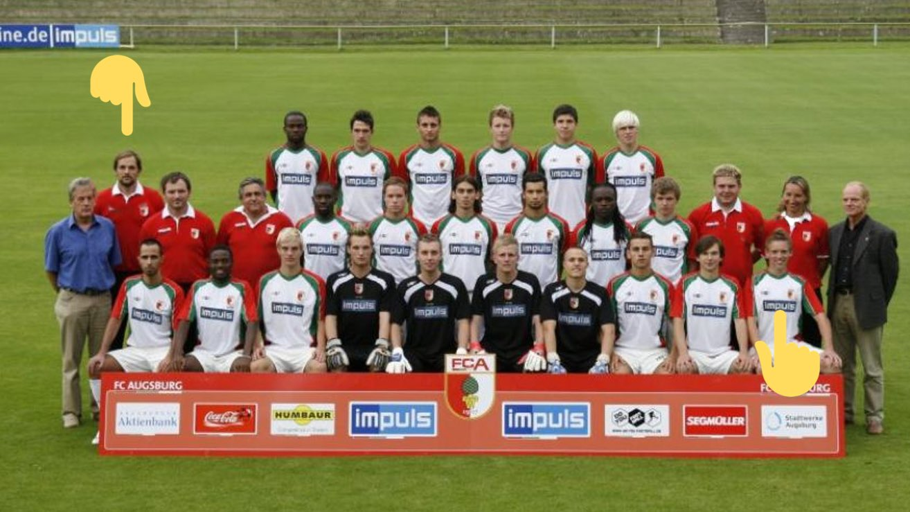 "FC Augsburg on Twitter: ""2007: Thomas Tuchel and Julian Nagelsmann on FC Augsburg II… """