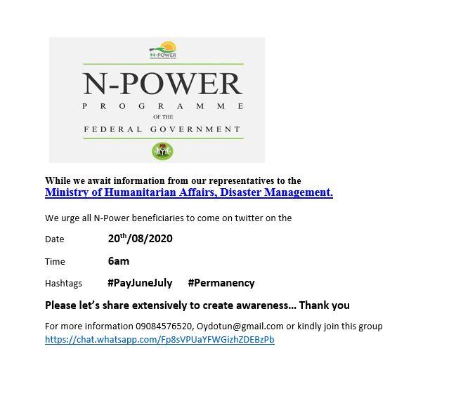 @Haidar_Michika @FMHDSD @Sadiya_farouq @npower_ng Pls share