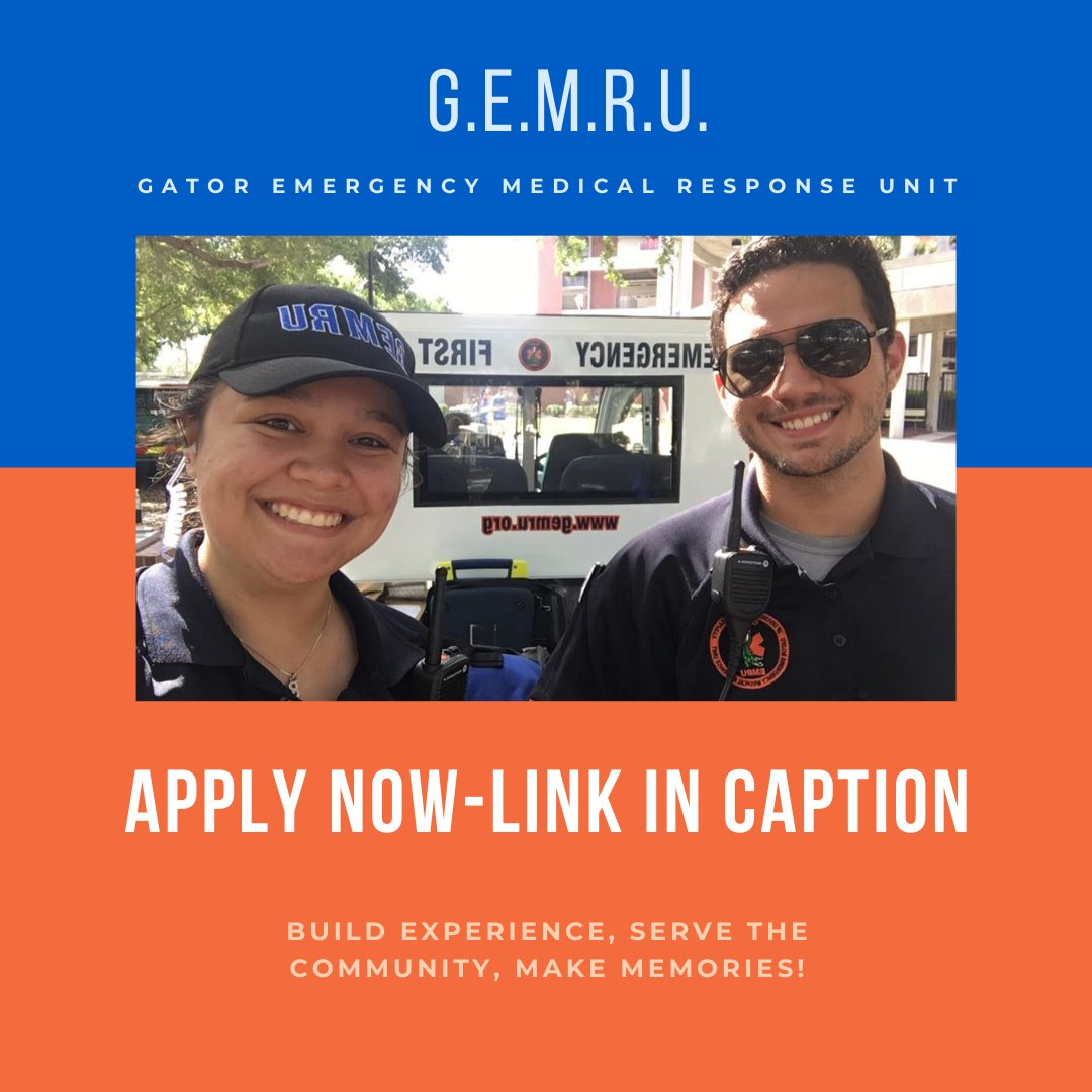 Build valuable experience and make memories! Applications for GEMRU are out now: docs.google.com/forms/d/e/1FAI…
