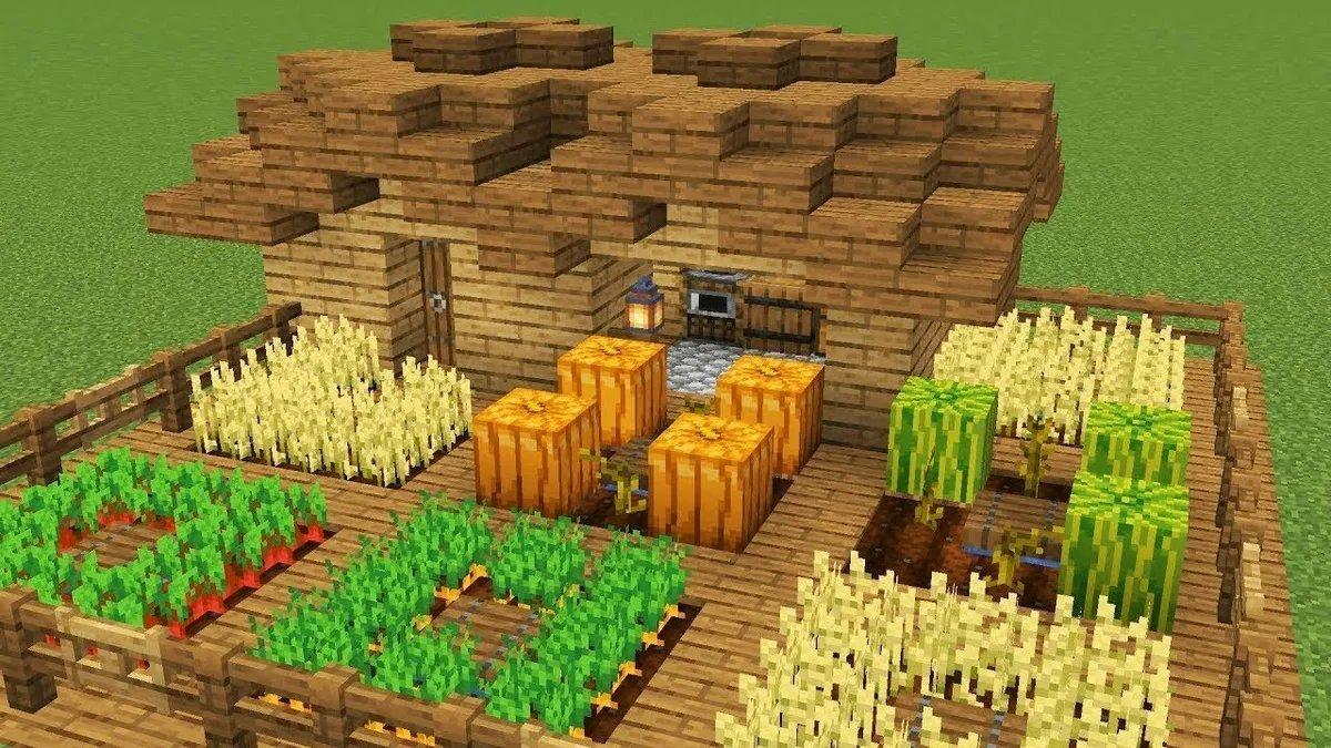 как в майнкрафте делать ферму #1