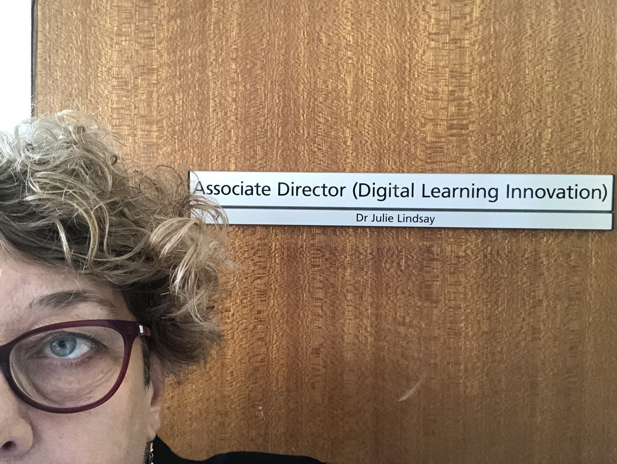 Look what turned up this morning! Excited to see this sign on my office door in Y block, USQ Toowoomba!