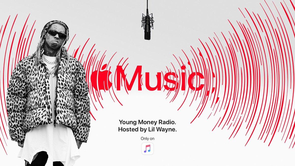 Check out #YoungMoneyRadio on Apple Music hosted by me!! Only on @applemusic Apple.co/youngmoney
