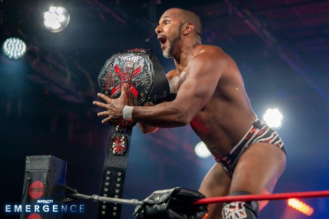 Novo X-Division Champion é coroado no IMPACT Emergence