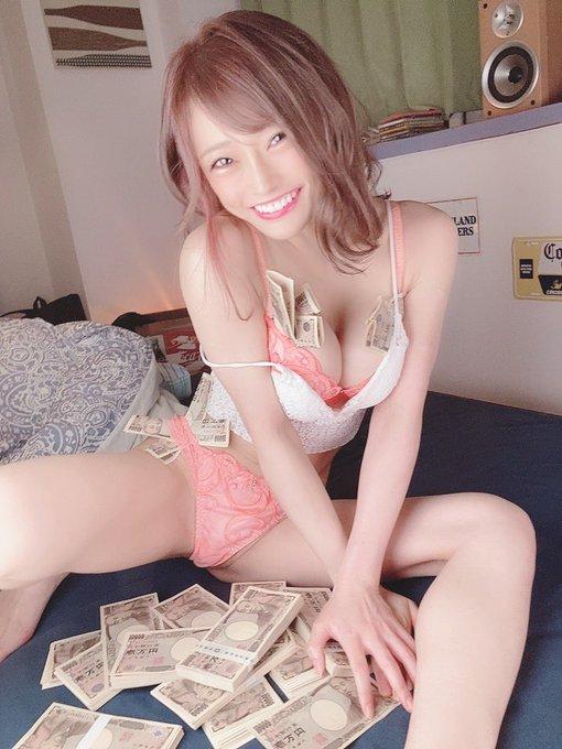 AV女優七海ひなのTwitter自撮りエロ画像14