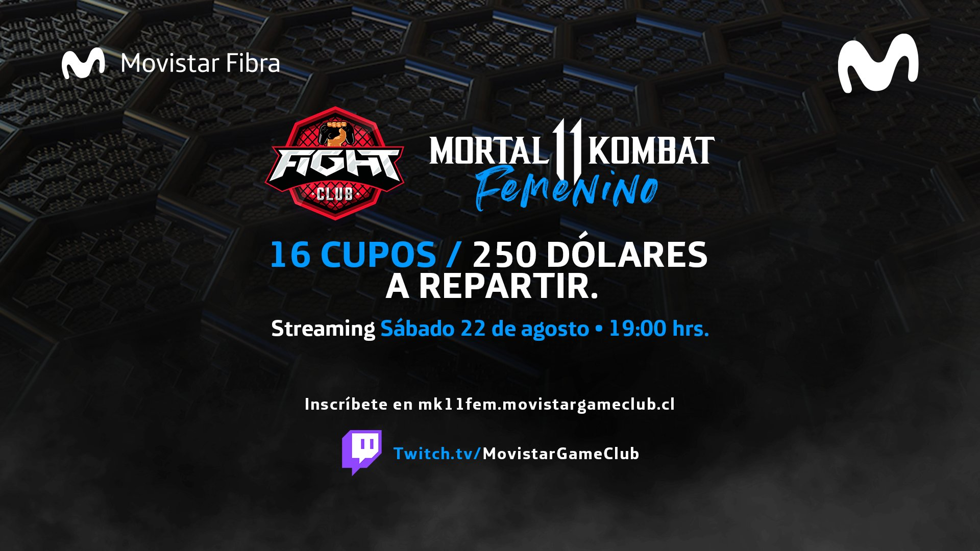 Fight Club: Torneo femenino Mortal Kombat 11