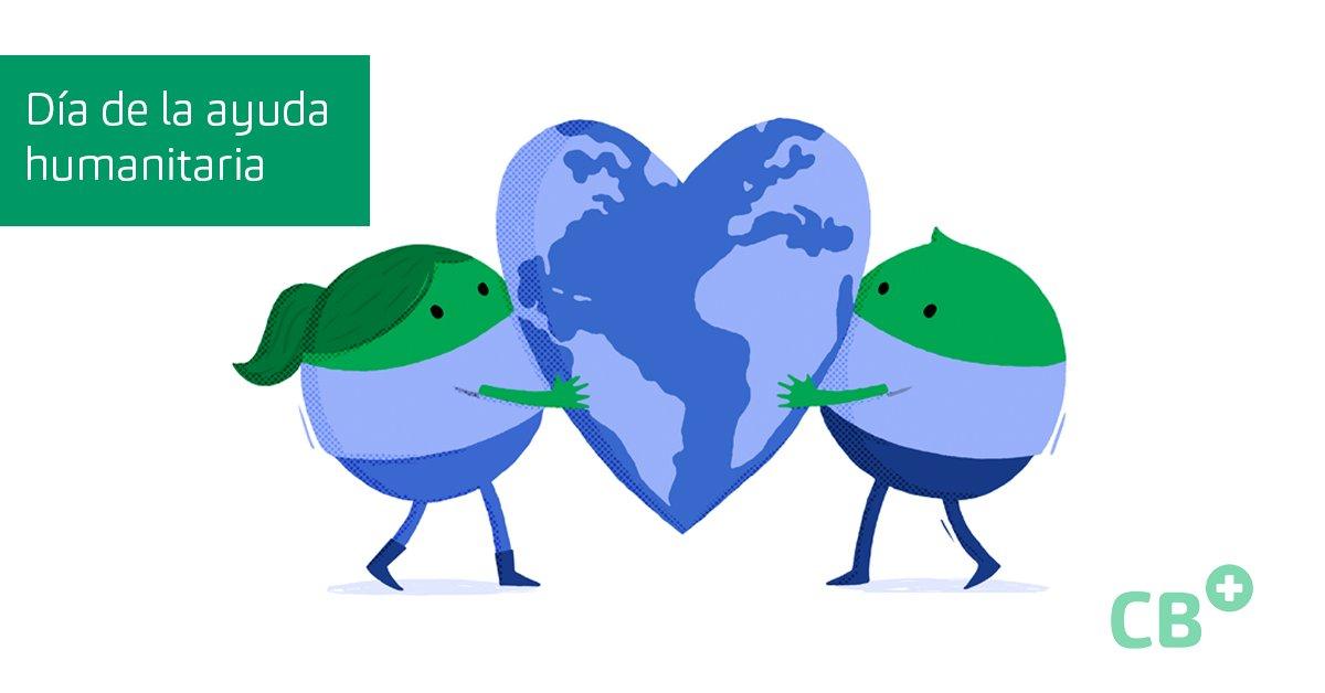 Hoy es el día internacional de la ayuda humanitaria 🙏  El mundo necesita médicos, necesita salud 💚  #DíaInternacionalDeLaAyudaHumanitaria #TheWorldNeedsMore