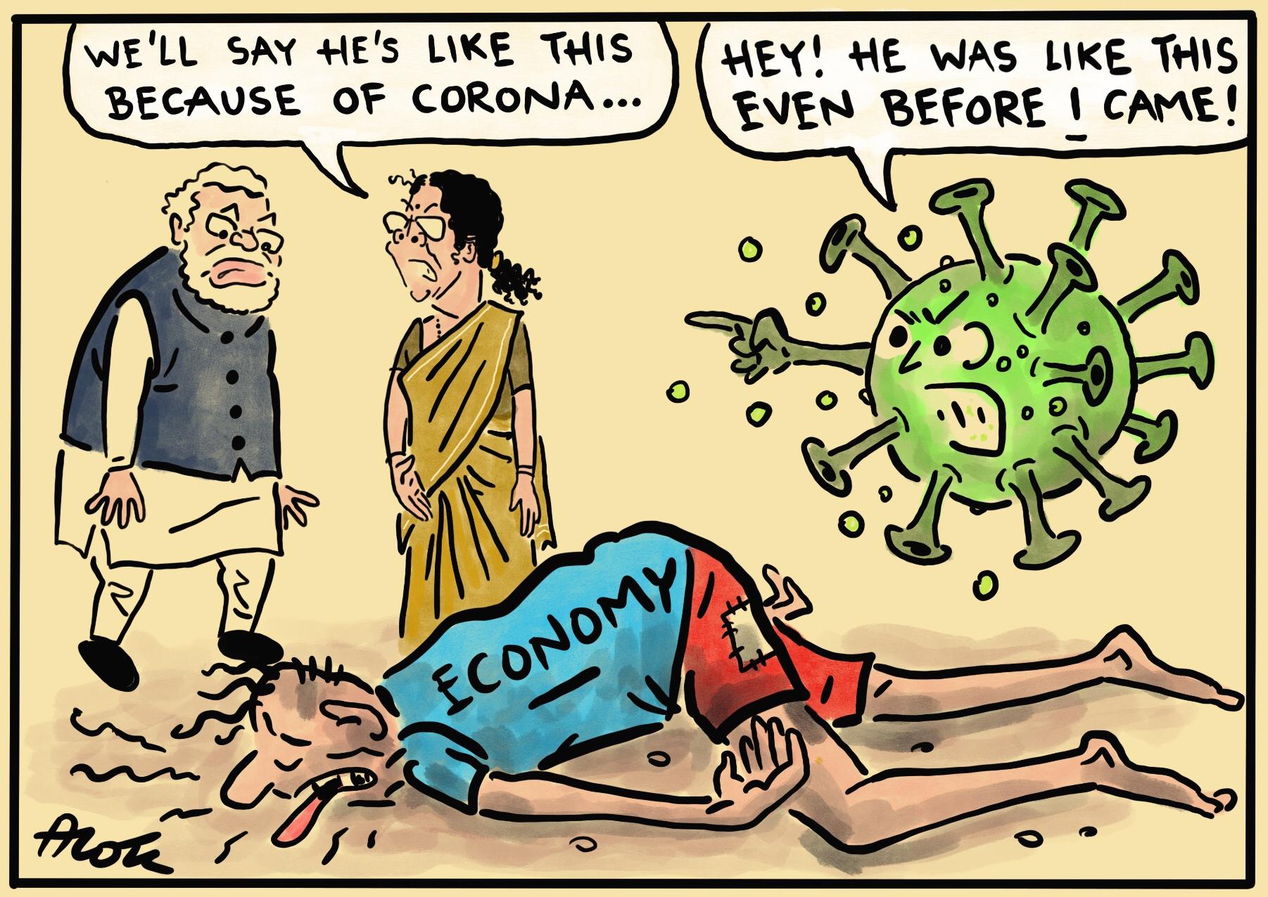"Cartoonist Alok on Twitter: ""#economy… """