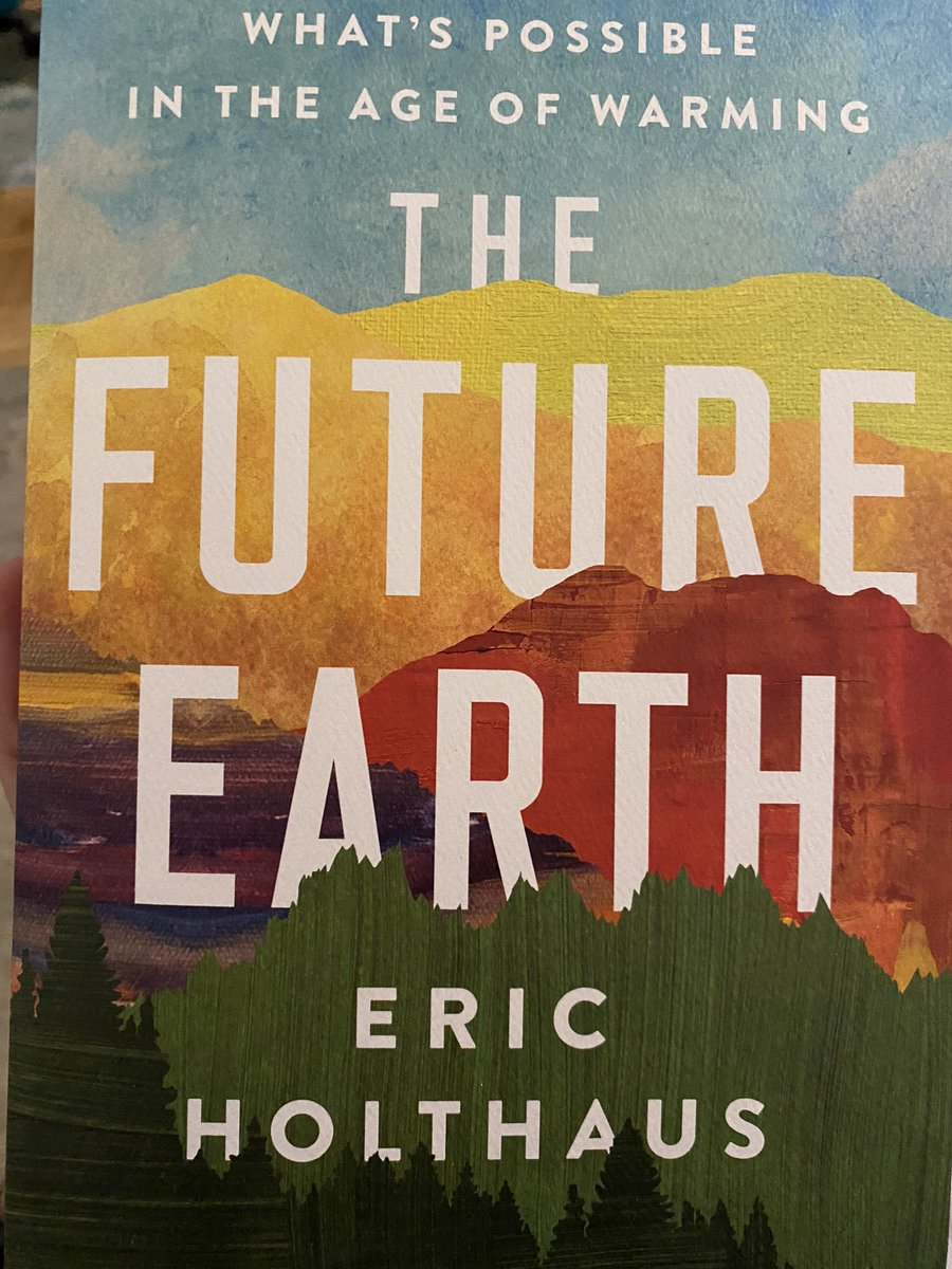 Back from almost 2 months of escaping NYC for the Catskills hills to find @EricHolthaus's new book waiting for me! Looking forward to digging in... https://t.co/2le7SBRE6m