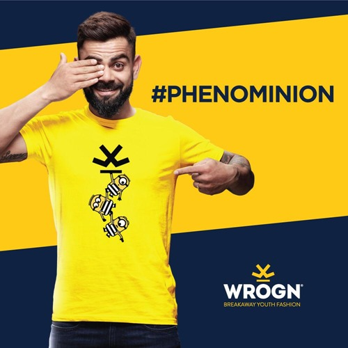 I spy with my eye - something yellow wearing goggles. MINIONS!  Our WROGN x MINIONS collection is here:   @Minions @BWObrands #staymad #staywrogn #minions #Tees #menswear #fashion #mensfashions #ootd #onlineshop #ViratKohli