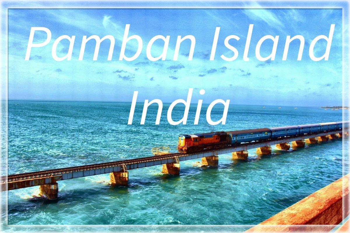 #Pamban Island also known as #Rameswaram #Island is an island located between peninsular #India and Sri Lanka. Photo courtesy-Google Sites #PambanIsland #TamilNadu #RameswaramIsland #travel_journey #traveljourney #naturelover #beautifulworld #closetothenature #travellover #travel https://t.co/NZIwgoXPyO