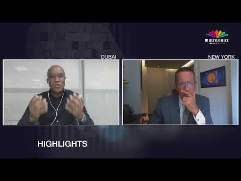 Our CEO, Calvo Mawela sat down with Richard Quest to share some exciting news on what MultiChoice Group & @DStv have to offer for their loyal customers.  #DStvShowcase   Watch the full video:https://t.co/pu1z7ewQKx https://t.co/5WmKvPnBIA