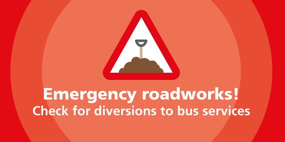 ⚠️🚌 North Road in #Ravensthorpe closed for gas works  🚌 @arrivayorkshire 202 &  Longstaffs 205 are diverted via #A644 Huddersfield Road, Church Lane and Dunbottle Lane during these works  ℹ️👉https://t.co/58KAsZnb9h  #WYBus #Kirklees https://t.co/WAR6xuLVbv
