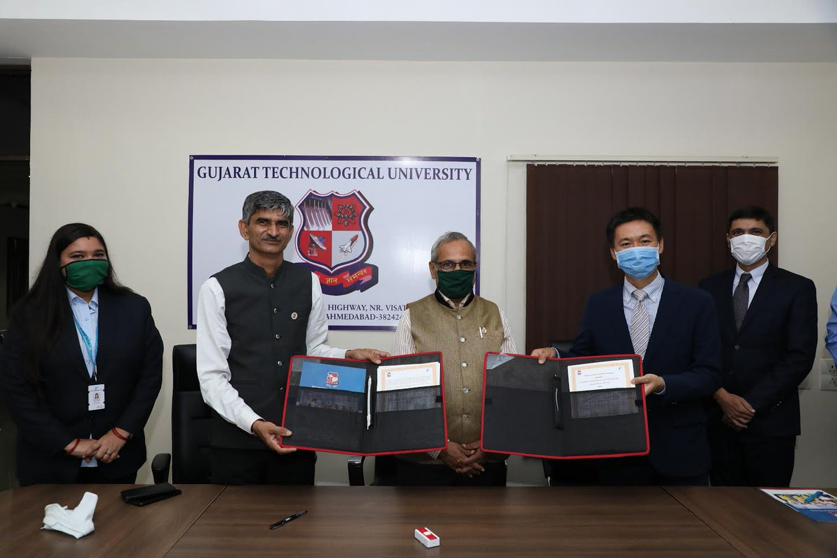 GTU inks MoU with Toyota Tsusho of Japan for diploma, short term courses