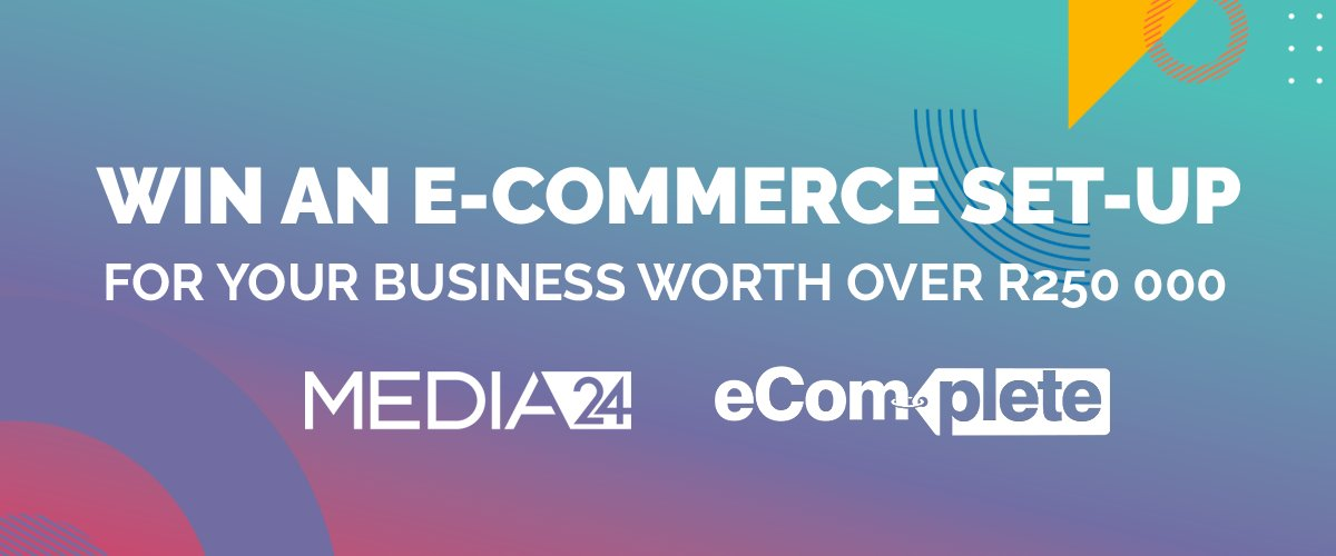 Sponsored: Your business could be one of 5 to win an e-commerce set-up worth over R250 000 (Ts and Cs apply). Visit https://t.co/tZTc0idTXK to enter. https://t.co/DB6lFd6r3u