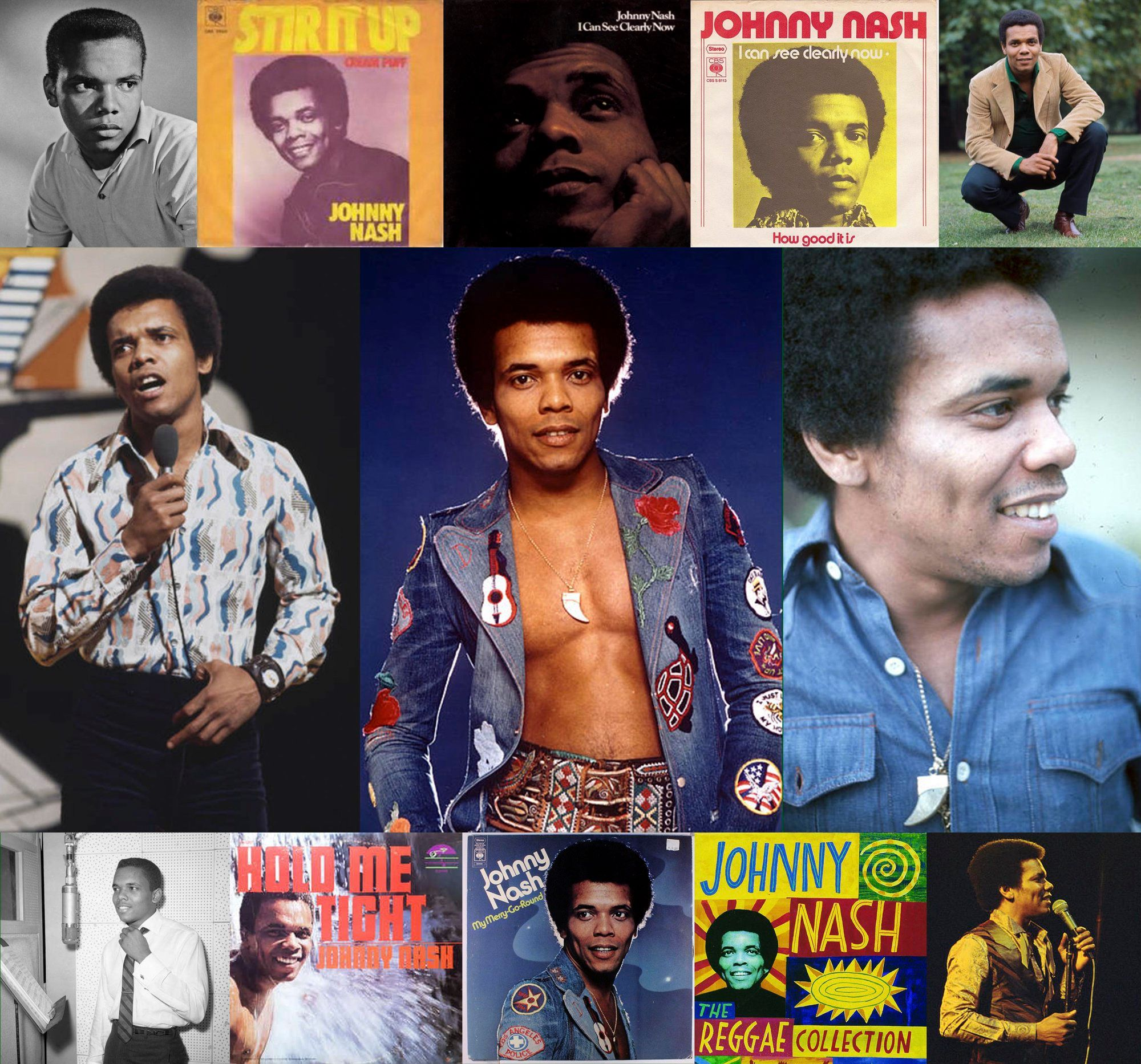 Wayne Chen On Twitter Johnny Nash American Singer Songwriter Born 80 Years Ago Today On 19 Aug 1940 In Houston 1972 Global Chart Topper I Can See Clearly Now Recorded In Jamaica 1968 Signed