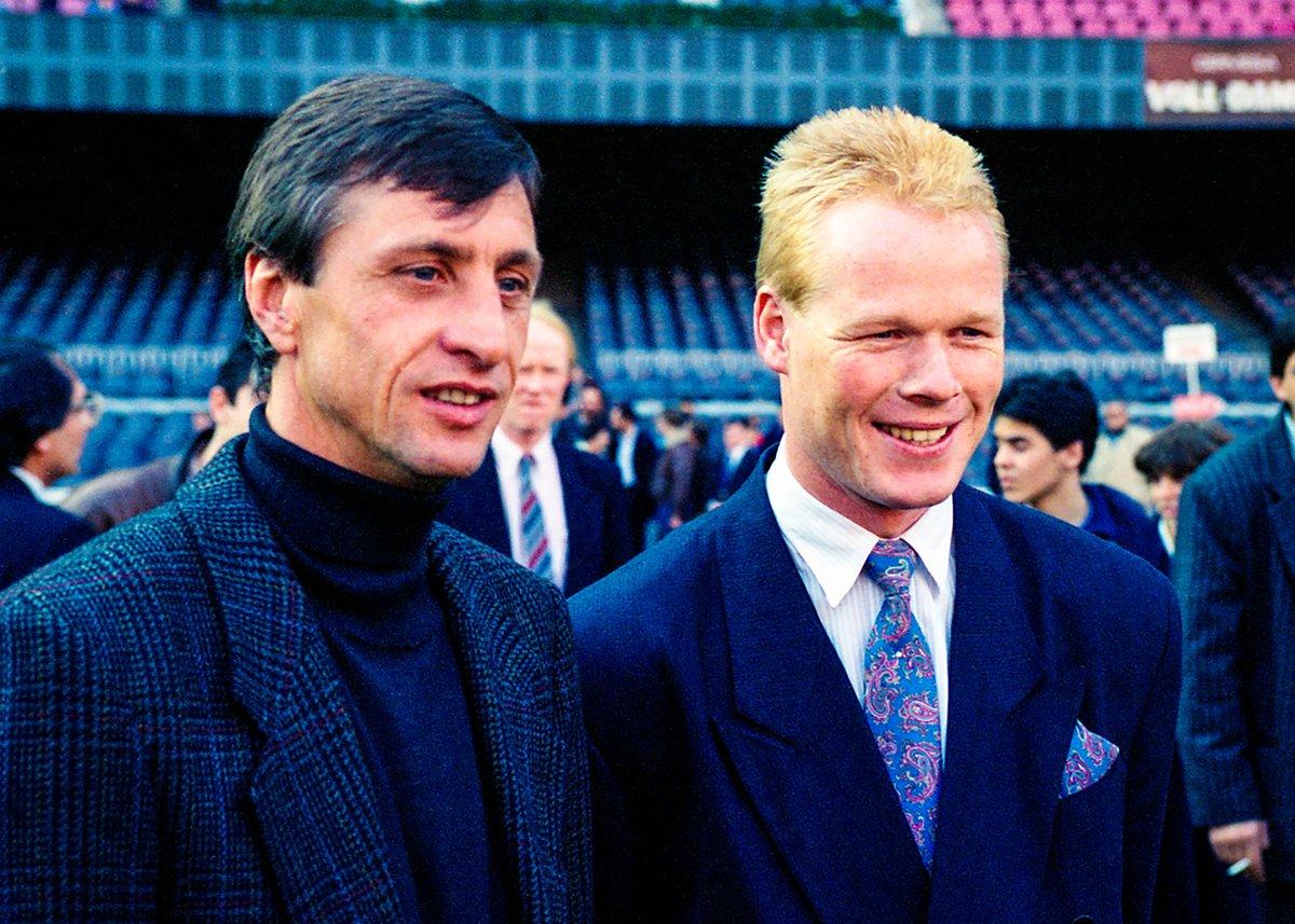Fc Barcelona On Twitter From Player To Manager At Barca Johancruyff Ronaldkoeman