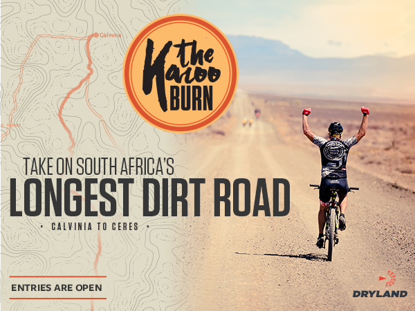 Sponsored: Put your skills to the test on the longest unbroken gravel road in South Africa. 242km | 20 February 2021 | Enter at https://t.co/AWEq0eVQfC https://t.co/XnZD7x8tzA
