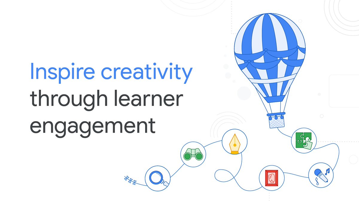 After months of planning, I'm so excited to release this new course on the Google Teacher Center!    In this brand new course, you'll learn how digital tools can: 🎨Support creativity 📣Promote student voice 🙋‍♀️Increase student engagement Get started: https://t.co/uLix4DpQ6N https://t.co/erOSew5t1C