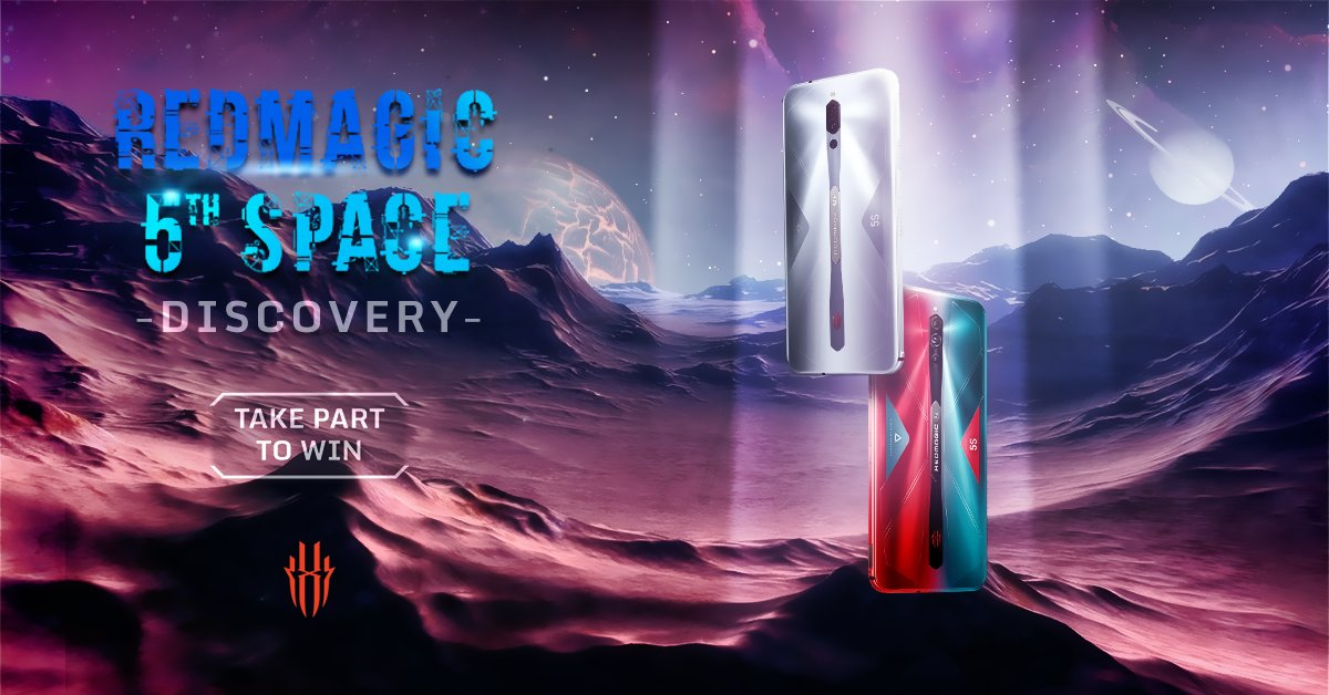 Thanks everyone that took part in the RedMagic: #FifthSpace event! Now get ready for the suprise ROUND 2, with even better prizes!! For our lucky winners, mark your Calanders for August 26th, to use your coupon codes. To see if you are a part 1 winner: https://t.co/M5KmfJszV1 https://t.co/jOejkGTfz6
