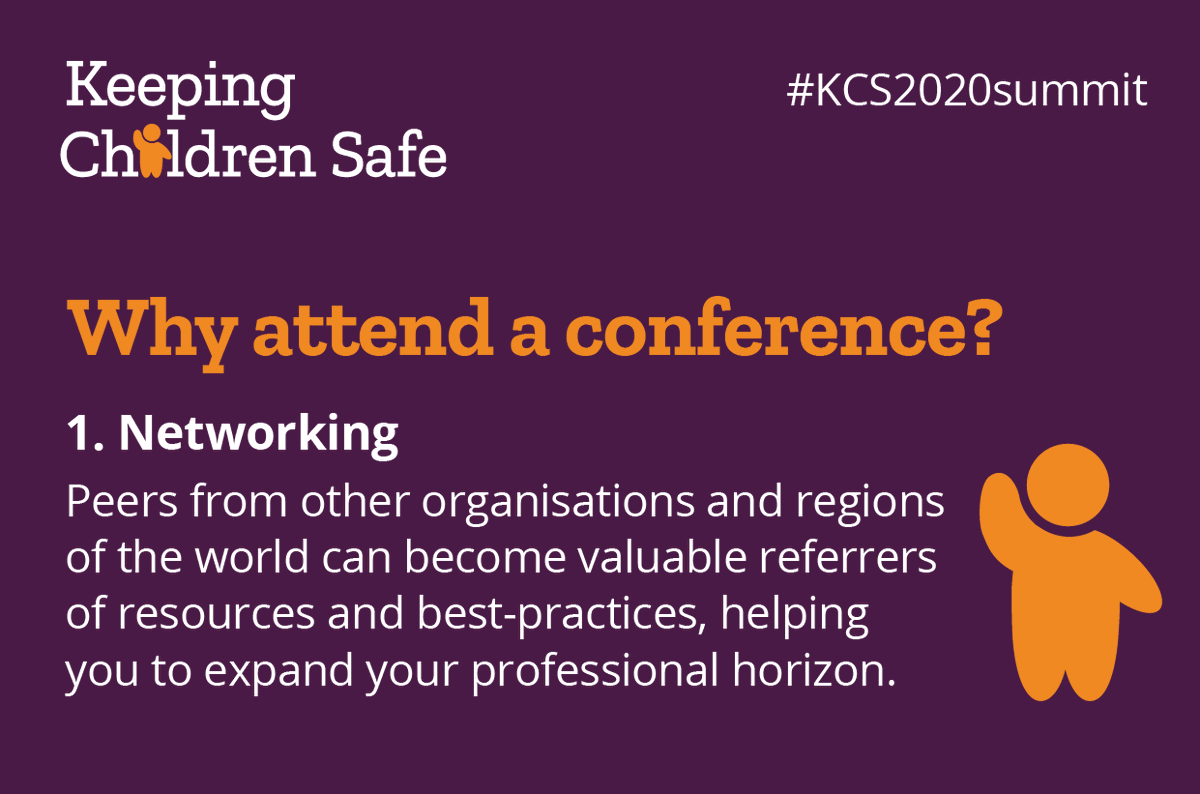 Why attend a conference? #Networking opportunities, of course. Peers from other organisations and regions of the world can become valuable referrers of #resources and best-practices, helping you to expand your professional horizon.  https://t.co/ZsqzKrWkaV  #KCS2020summit https://t.co/30klYtpZEf