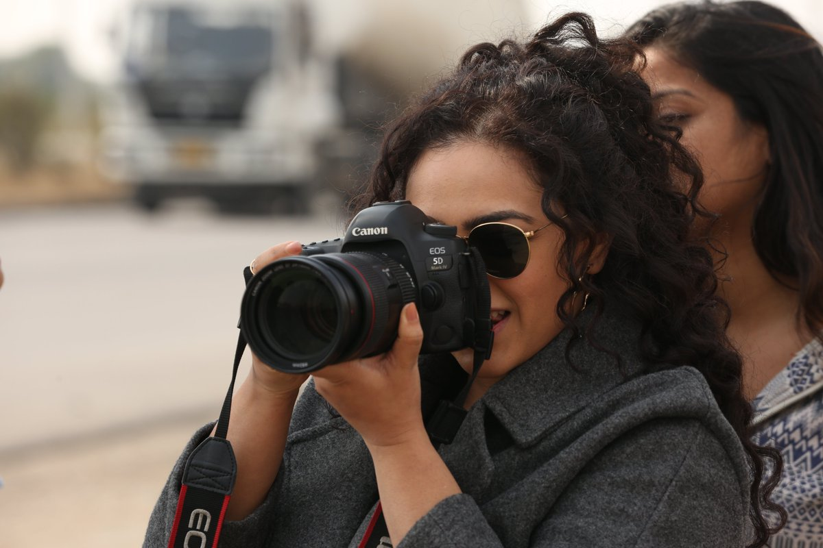 This #WorldPhotographyDay smile for Abha, but watch your back!📸#BreatheIntoTheShadows @MenenNithya
