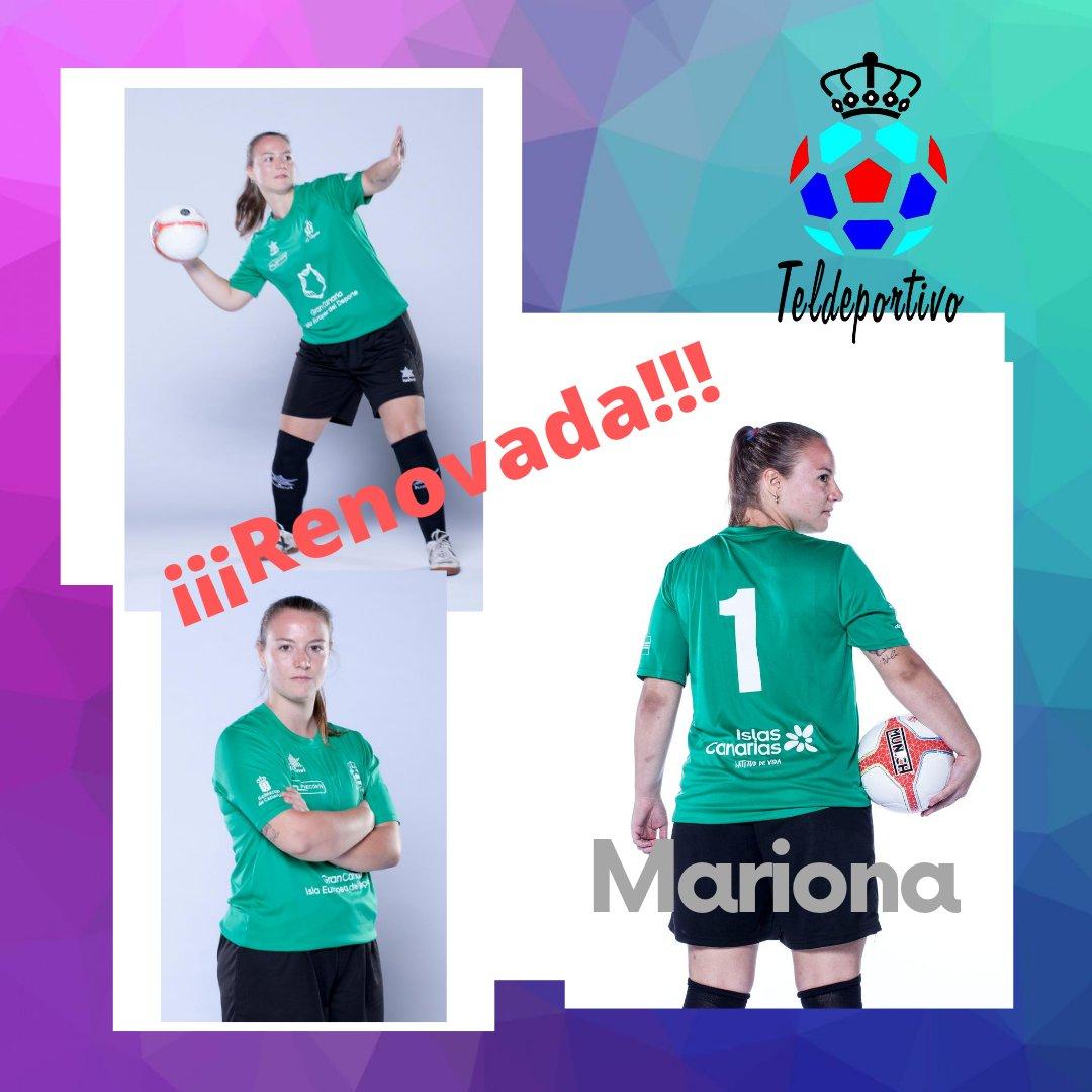 Mariona y Teldeportivo siguen juntos en la Primera División