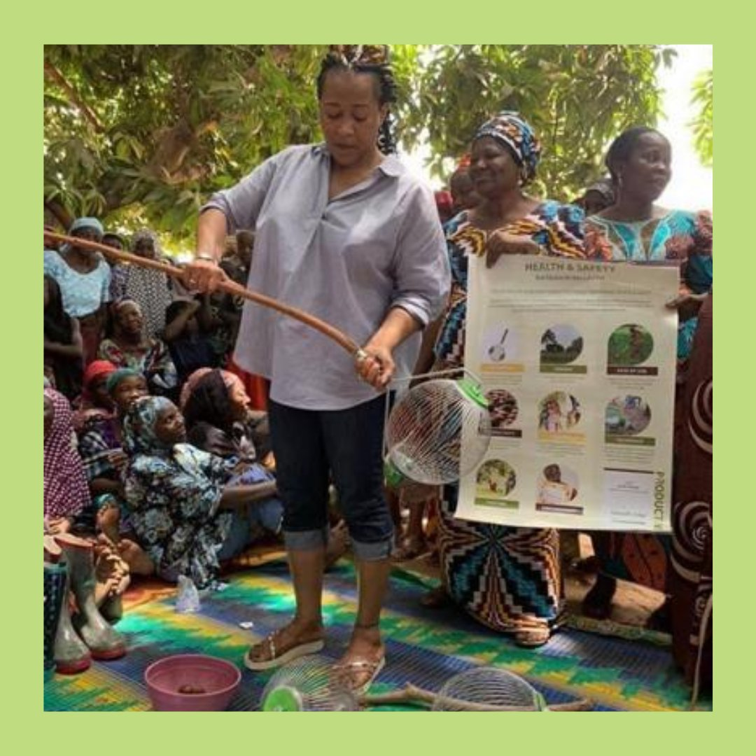 We're proud of the work we are doing with the incredible community of Essan 💚  Last year our founder provided health and safety training  ✨  #JoinTheTribe #tradenotaid #ethicalsourcing #empoweringwomen #sustainability #ethicalbusiness https://t.co/97oleUvTZV